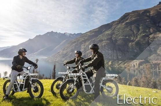 Walter Peak Electric Trail Bikes